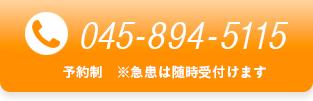 予約制:電話0458945115